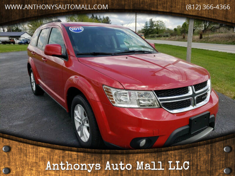 2016 Dodge Journey for sale at Anthonys Auto Mall LLC in New Salisbury IN