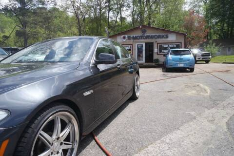 2011 BMW 5 Series for sale at E-Motorworks in Roswell GA
