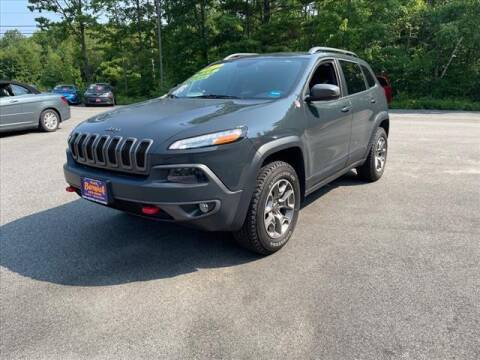 2017 Jeep Cherokee for sale at North Berwick Auto Center in Berwick ME