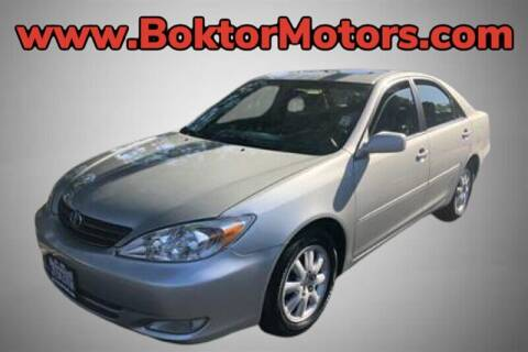 2003 Toyota Camry for sale at Boktor Motors in North Hollywood CA
