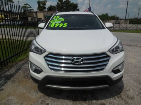 2015 Hyundai Santa Fe for sale at SCOTT HARRISON MOTOR CO in Houston TX