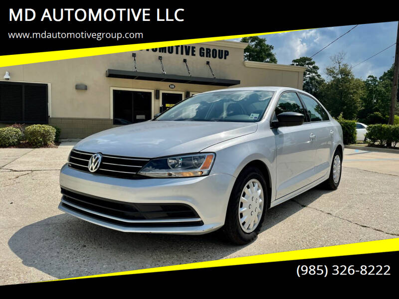 2015 Volkswagen Jetta for sale at MD AUTOMOTIVE LLC in Slidell LA
