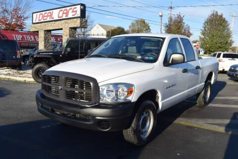 2007 Dodge Ram Pickup 1500 for sale at I-DEAL CARS in Camp Hill PA