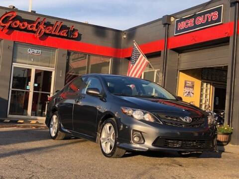 2013 Toyota Corolla for sale at Goodfella's  Motor Company in Tacoma WA