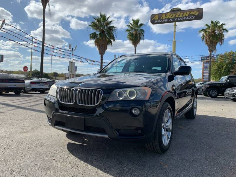 2011 BMW X3 for sale at A MOTORS SALES AND FINANCE in San Antonio TX
