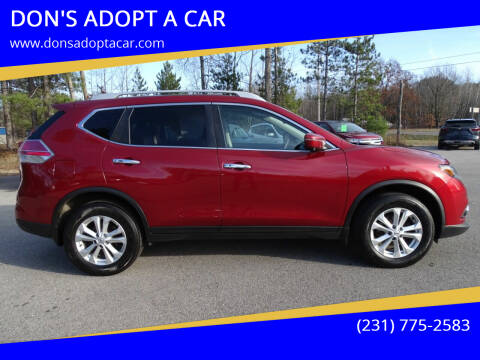 2016 Nissan Rogue for sale at DON'S ADOPT A CAR in Cadillac MI