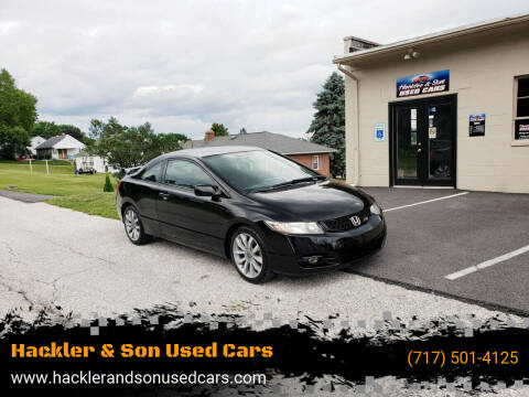 2009 Honda Civic for sale at Hackler & Son Used Cars in Red Lion PA