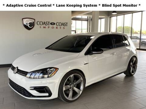 2019 Volkswagen Golf R for sale at Coast to Coast Imports in Fishers IN