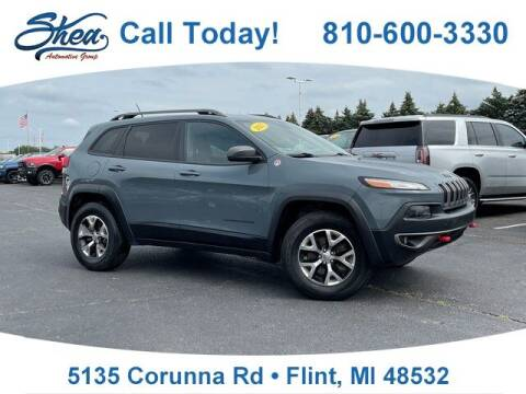 2015 Jeep Cherokee for sale at Erick's Used Car Factory in Flint MI