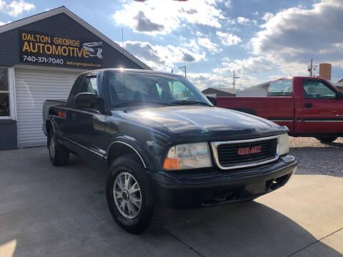 2003 GMC Sonoma for sale at Dalton George Automotive in Marietta OH