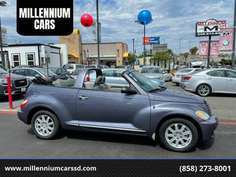 2007 Chrysler PT Cruiser for sale at MILLENNIUM CARS in San Diego CA