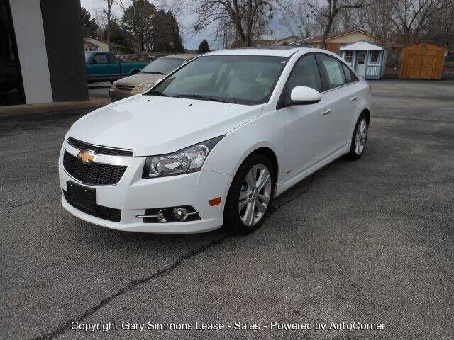 2012 Chevrolet Cruze for sale at Gary Simmons Lease - Sales in Mckenzie TN