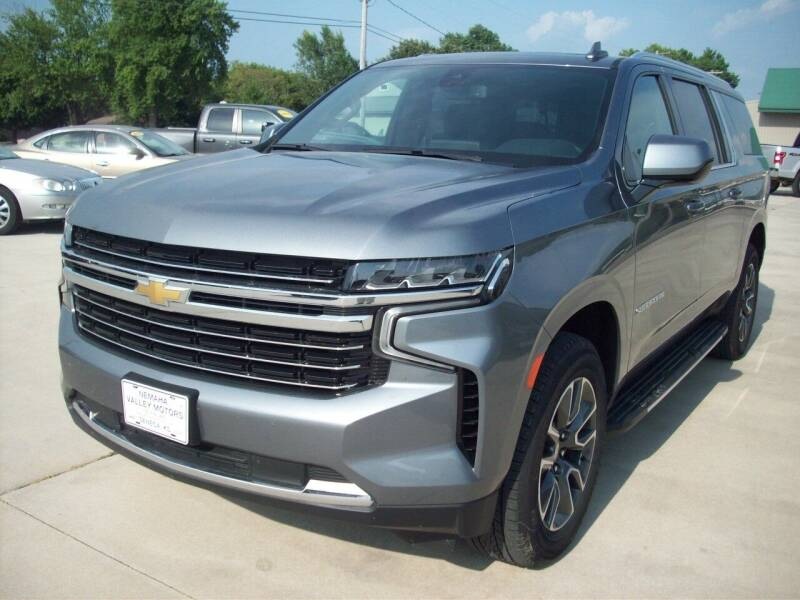 2021 Chevrolet Suburban for sale at Nemaha Valley Motors in Seneca KS