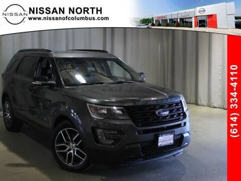 2017 Ford Explorer for sale at Auto Center of Columbus in Columbus OH
