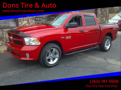 2017 RAM Ram Pickup 1500 for sale at Dons Tire & Auto in Butler WI