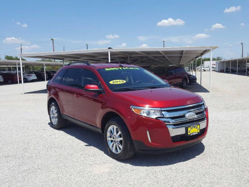 2013 Ford Edge for sale at Bostick's Auto & Truck Sales LLC in Brownwood TX