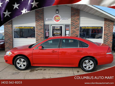 2013 Chevrolet Impala for sale at Columbus Auto Mart in Columbus NE