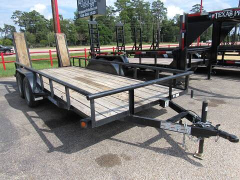 """2016 Load Trail 77"""" x 16'  PIPETOP for sale at Park and Sell in Conroe TX"""