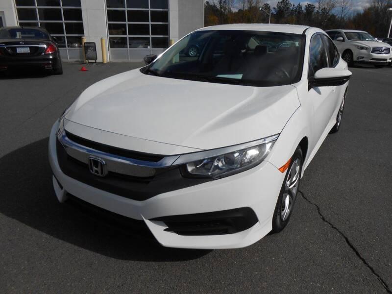 2016 Honda Civic for sale at Auto America in Charlotte NC