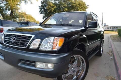 2002 Lexus LX 470 for sale at E-Auto Groups in Dallas TX