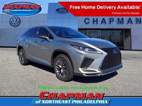 2020 Lexus RX 350 for sale at CHAPMAN FORD NORTHEAST PHILADELPHIA in Philadelphia PA