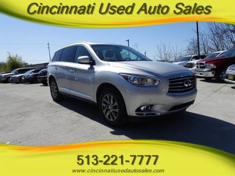 2014 Infiniti QX60 Hybrid for sale at Cincinnati Used Auto Sales in Cincinnati OH