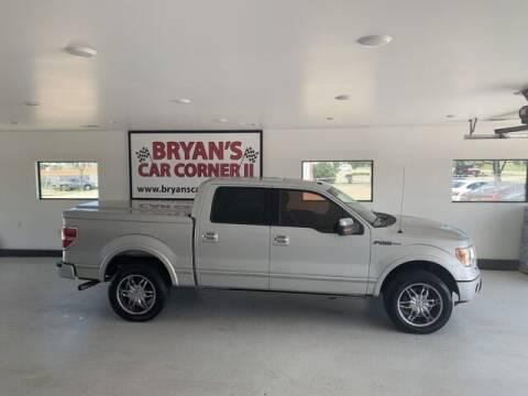 2010 Ford F-150 for sale at Bryans Car Corner in Chickasha OK