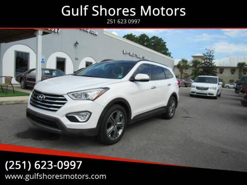 2013 Hyundai Santa Fe for sale at Gulf Shores Motors in Gulf Shores AL