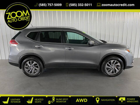 2016 Nissan Rogue for sale at ZoomAutoCredit.com in Elba NY