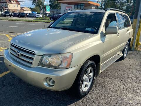 2003 Toyota Highlander for sale at MFT Auction in Lodi NJ