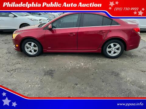 2013 Chevrolet Cruze for sale at Philadelphia Public Auto Auction in Philadelphia PA