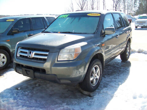 2008 Honda Pilot for sale at Summit Auto Inc in Waterford PA