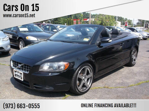 2007 Volvo C70 for sale at Cars On 15 in Lake Hopatcong NJ