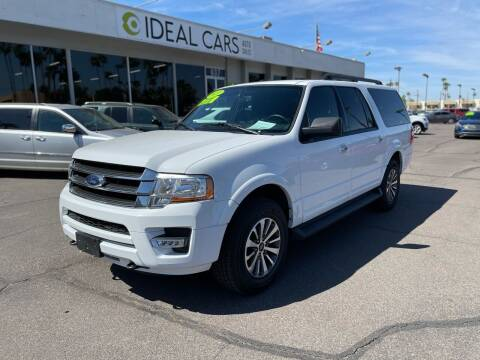 2017 Ford Expedition EL for sale at Ideal Cars Broadway in Mesa AZ