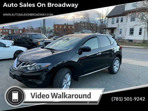 2014 Nissan Murano for sale at Auto Sales on Broadway in Norwood MA