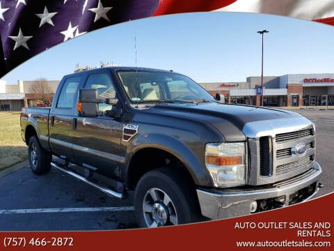 2008 Ford F-250 Super Duty for sale at Auto Outlet Sales and Rentals in Norfolk VA