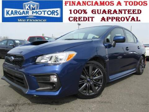 2018 Subaru WRX for sale at Kargar Motors of Manassas in Manassas VA
