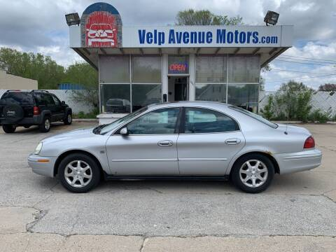 2002 Mercury Sable for sale at Velp Avenue Motors LLC in Green Bay WI