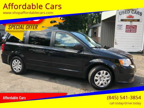 2015 Dodge Grand Caravan for sale at Affordable Cars in Kingston NY