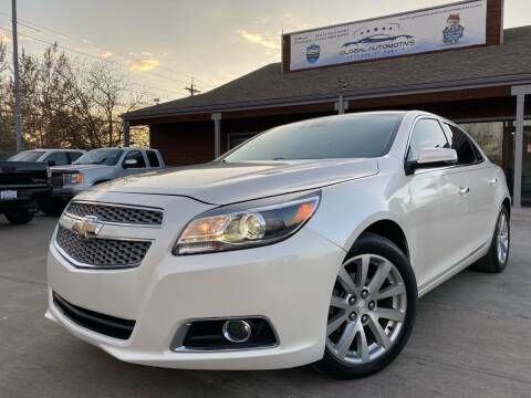 2013 Chevrolet Malibu for sale at Global Automotive Imports in Denver CO