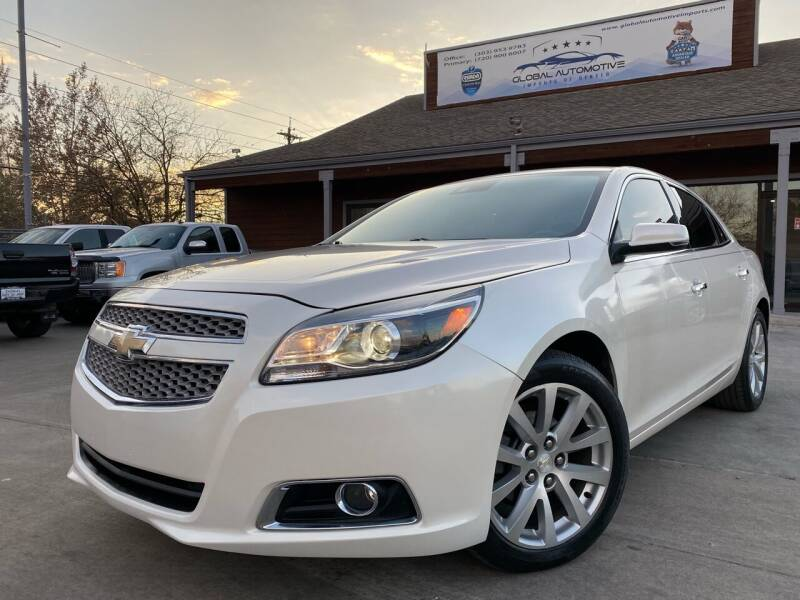 2013 Chevrolet Malibu for sale at Global Automotive Imports of Denver in Denver CO