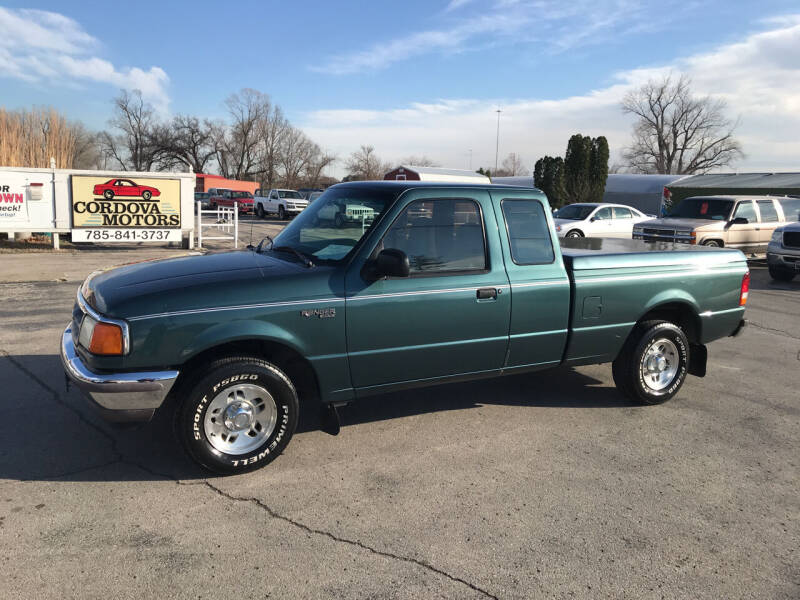 1997 Ford Ranger for sale at Cordova Motors in Lawrence KS