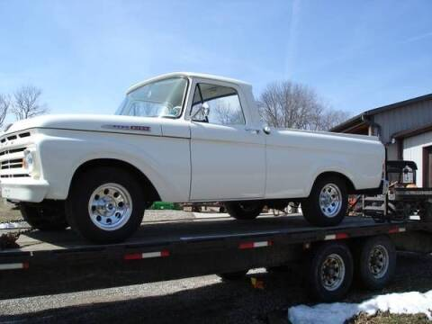 1962 Ford F-100 for sale at Haggle Me Classics in Hobart IN