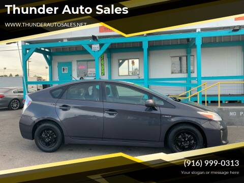 2012 Toyota Prius for sale at Thunder Auto Sales in Sacramento CA