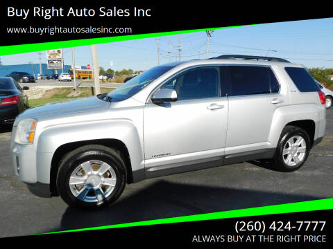 2011 GMC Terrain for sale at Buy Right Auto Sales Inc in Fort Wayne IN