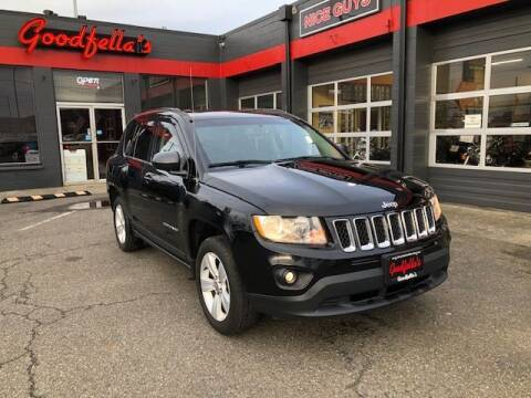2013 Jeep Compass for sale at Goodfella's  Motor Company in Tacoma WA