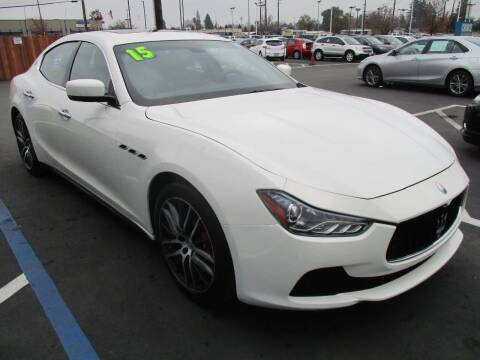 2015 Maserati Ghibli for sale at Choice Auto & Truck in Sacramento CA