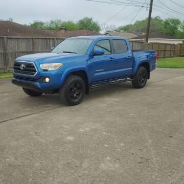 2017 Toyota Tacoma for sale at MOTORSPORTS IMPORTS in Houston TX