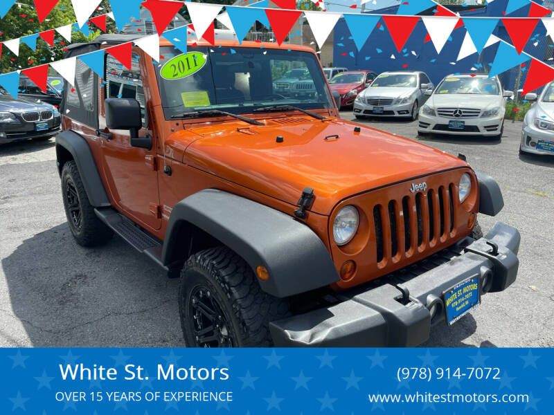 2011 Jeep Wrangler for sale at White St. Motors in Haverhill MA