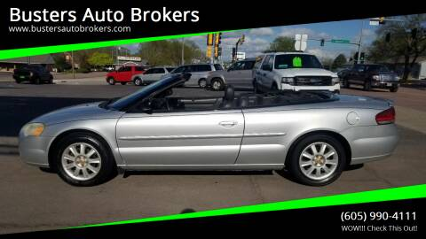 2005 Chrysler Sebring for sale at Busters Auto Brokers in Mitchell SD
